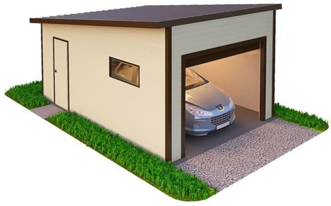 Строительство гаража под ключ в Новосибирске