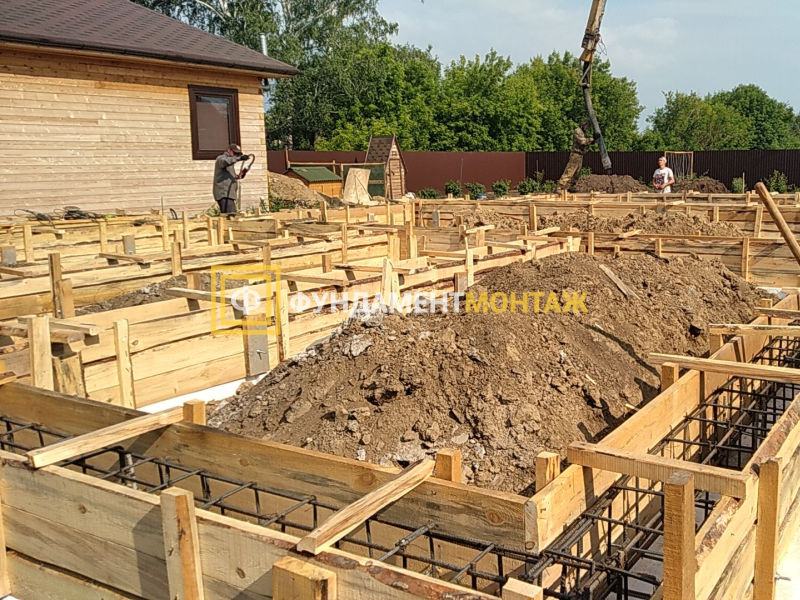 Строительство фундамента в Новосибирске