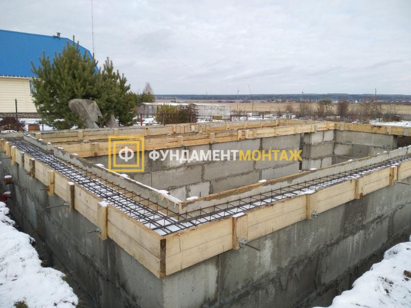 Строительство цокольного этажа в Новосибирске