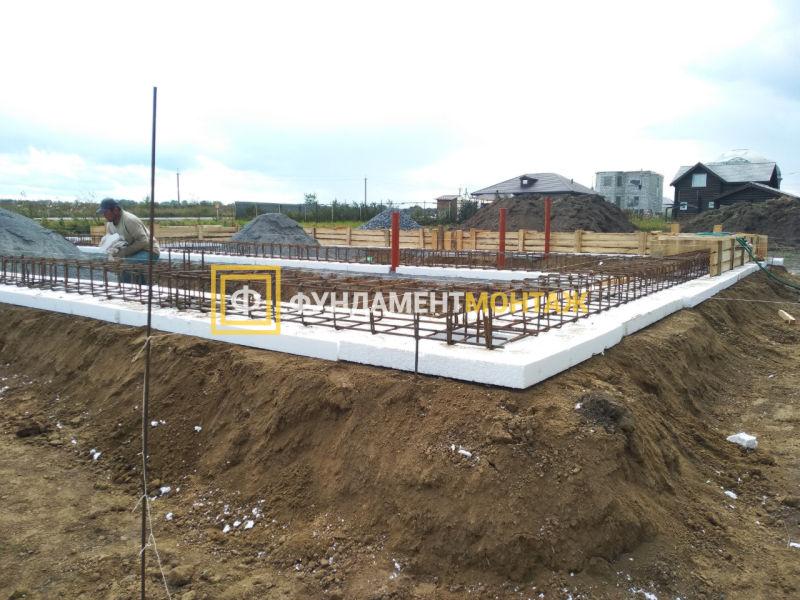 Строительство фундамента в Новосибирке под ключ