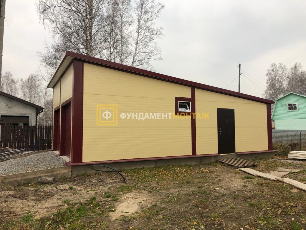 Построить гараж из сэндвич панелей в Новосибирске
